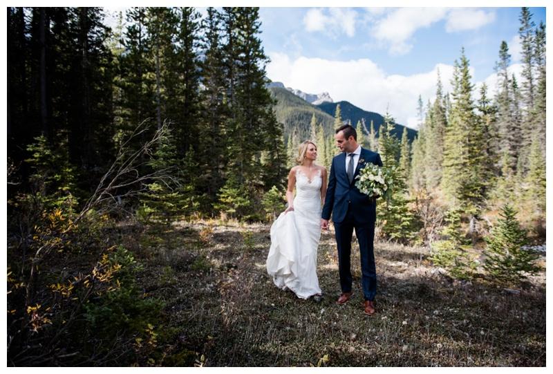Silvertip Golf Course Wedding Canmore