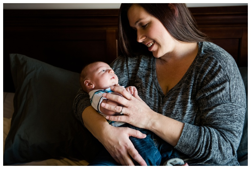 Calgary Lifestyle Newborn Session