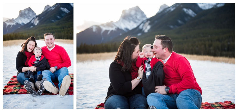 Canmore Winter Family Photography
