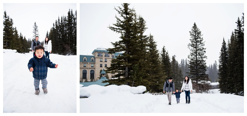 Lake Louise Family Photography Session