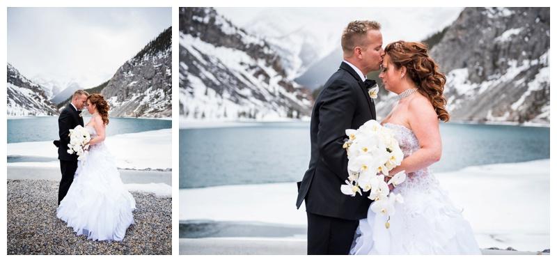 Canmore Spring Wedding Photos