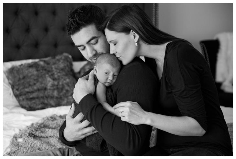 Lifestyle Newborn Photography Calgary