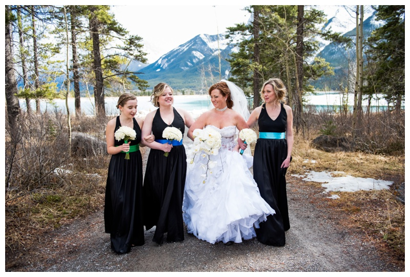 Mountain Bridesmaid Photo