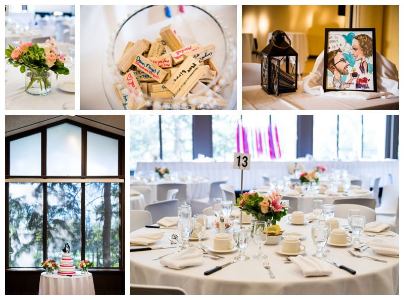 Alberta Room Wedding Reception