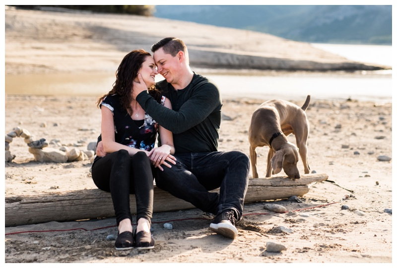 Barrier Lake Engagement Photographer