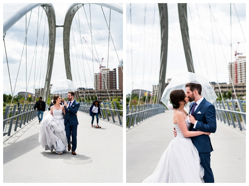 Calgary East Village Wedding Photography