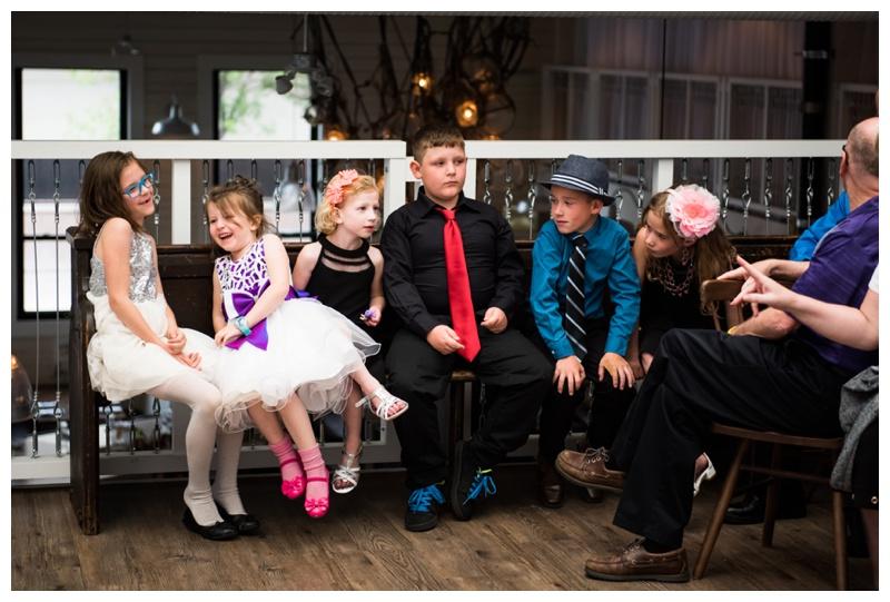 Calgary Restraunt Wedding Ceremony