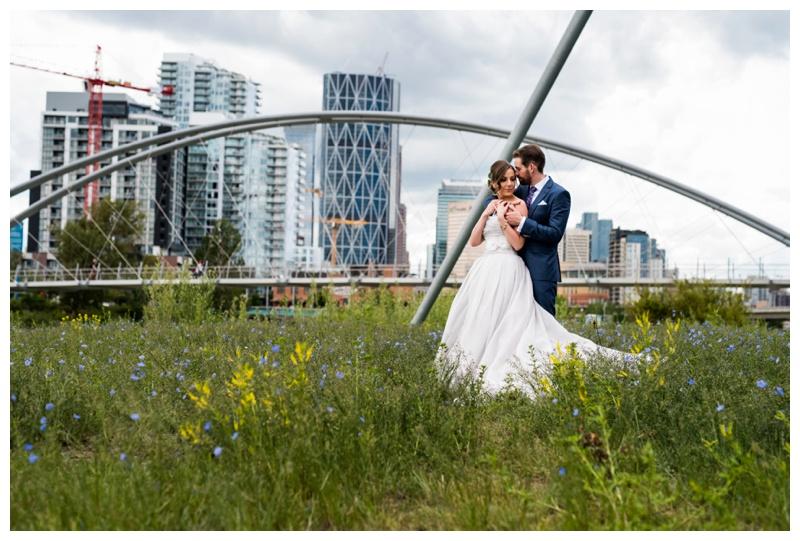 Calgary St. Patriks Island Wedding Photography