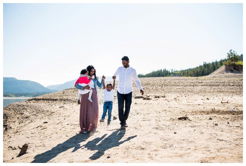 Barrier Lake Family Photos