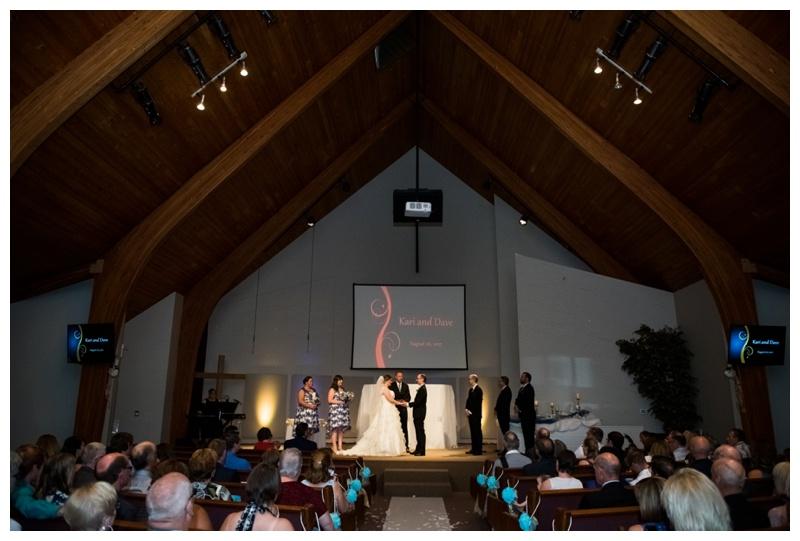 Bonivista Baptist Church Wedding Calgary