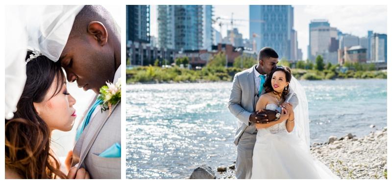 Calgary Alberta Downtown Wedding Photography
