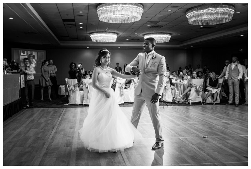 Calgary Coast Plaza Hotel Wedding Reception