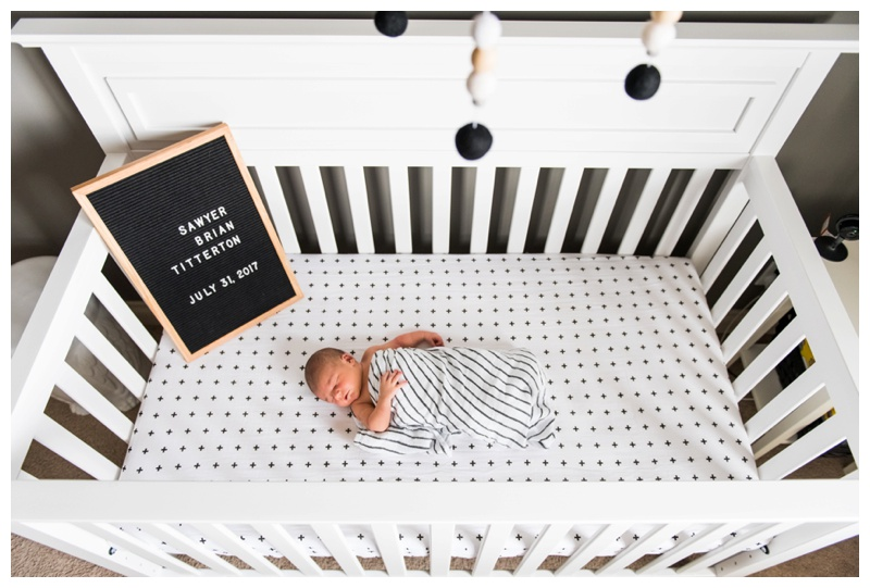 Calgary In Home Lifestyle Newborn Photography Session