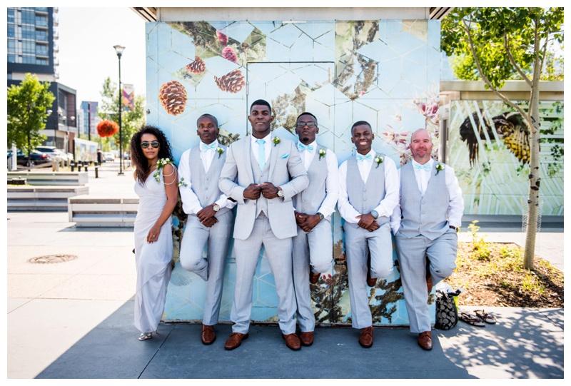 Simmons Buiding Wedding Photography Calgary