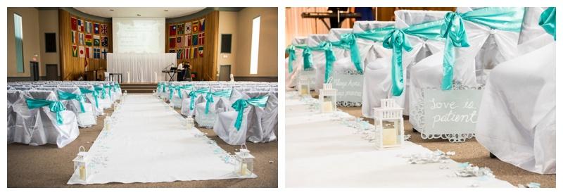 The Church of Immanuel Wedding Ceremony Calgary