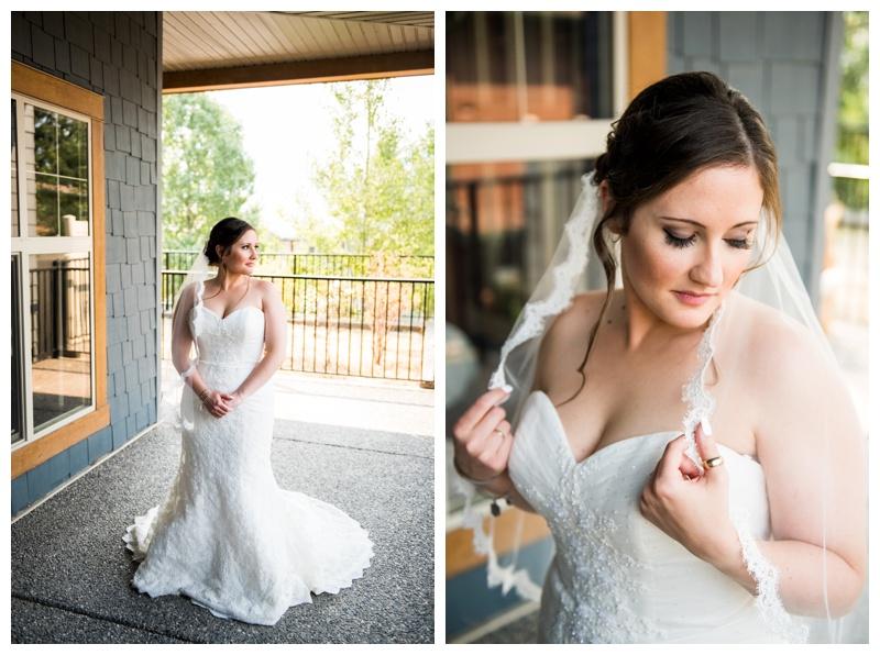 Mountain Bride - Canmore Wedding Photography