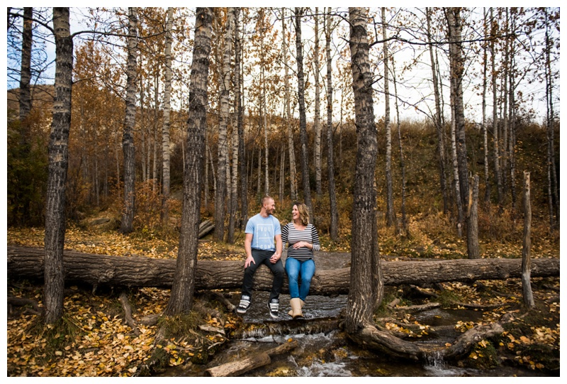 Big Hill Springs Park Maternity Photos - Cochrane Alberta