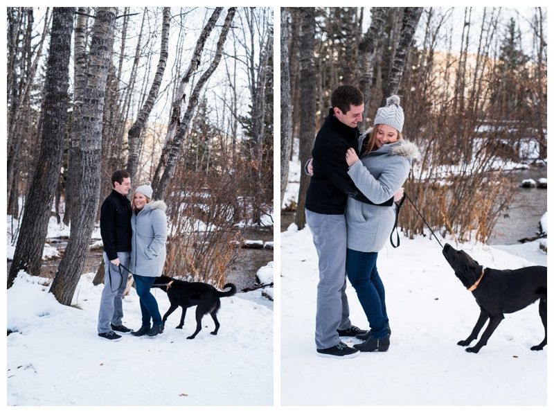 Big Hill Spring Park Couple Session Calgary