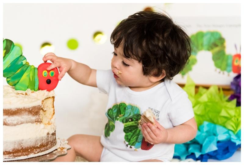 Hungry Caterpillar First Birthday - Calgary Photographer