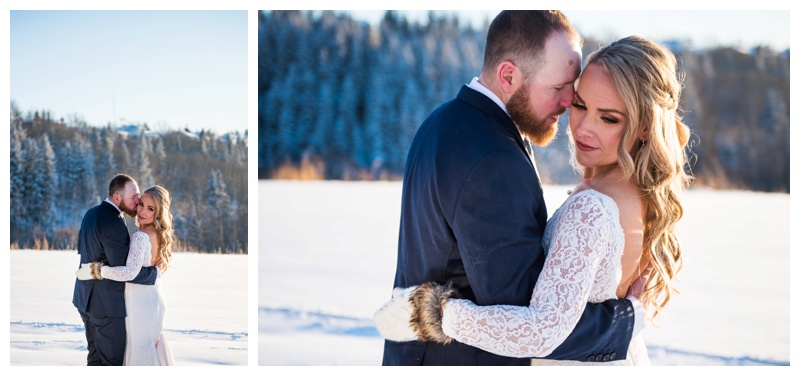 Calgary Winter Wedding Photographer
