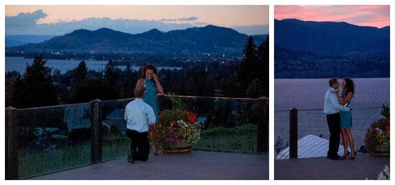 Kelowna Proposal Photography