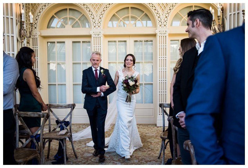 Banff Spring Conservatory Wedding Photos