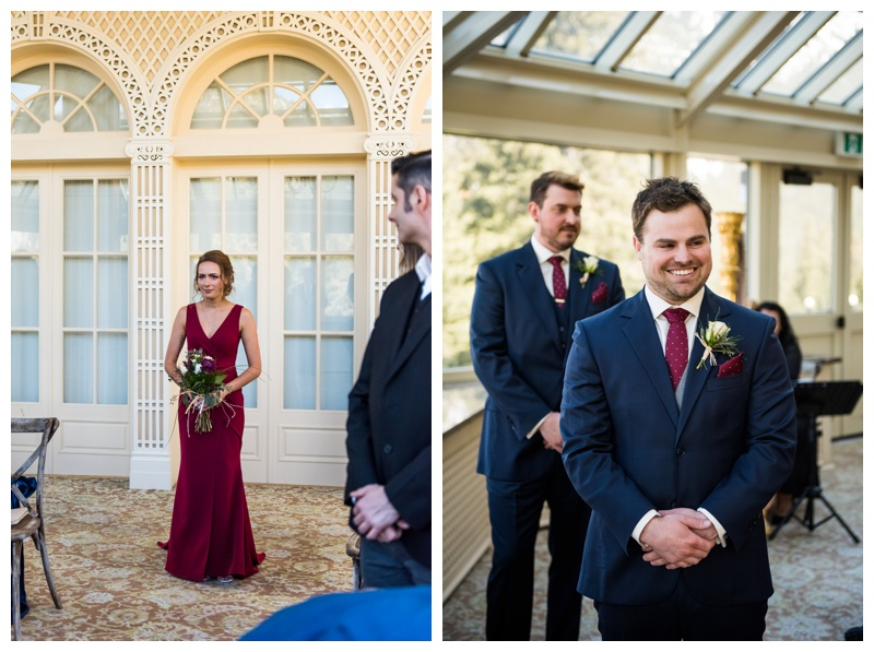 Banff Wedding Photographer- Banff Spring Wedding Ceremony