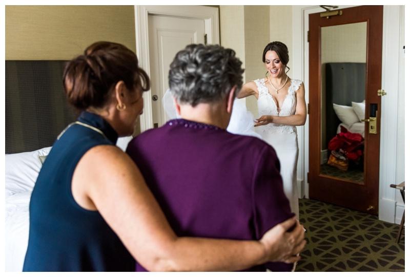 Bridal Prep Wedding Photography - Fairmont Banff Springs