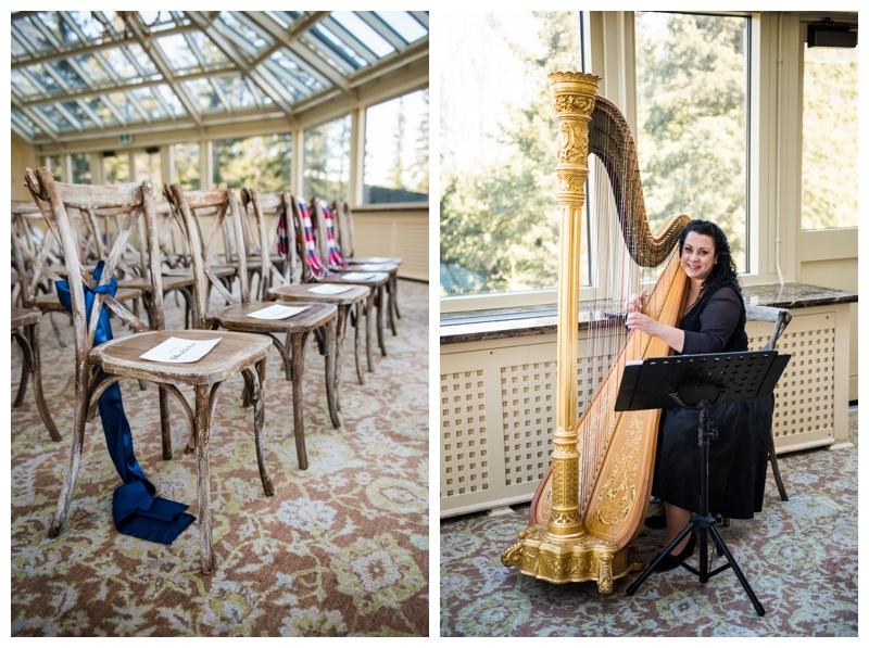 Fairmont Banff Spring Conservatory Wedding