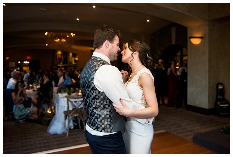 First Dance Wedding Photography - Banff Alberta