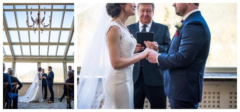 Wedding Ceremony - Banff Springs Hotel
