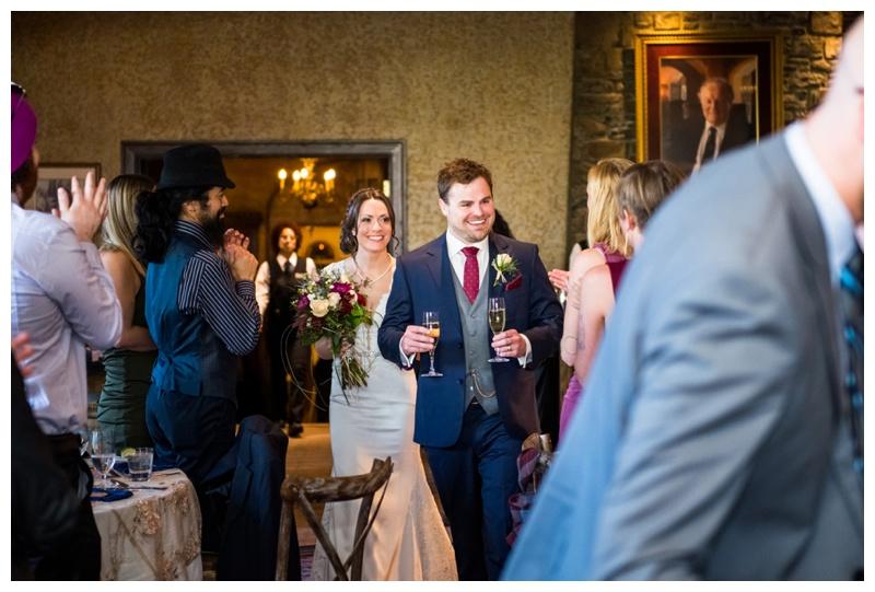 Wedding Photos Banff - Wedding Reception Banff Spring Hotel