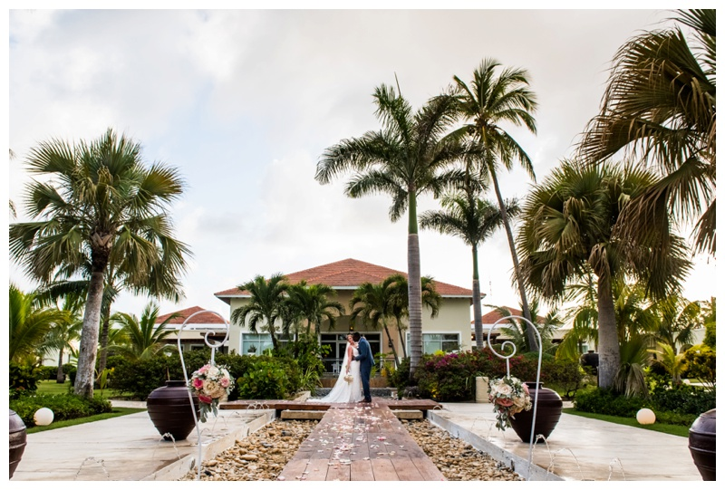 Bride & Groom Portraits -Destination Wedding Photography Dominicain Republic