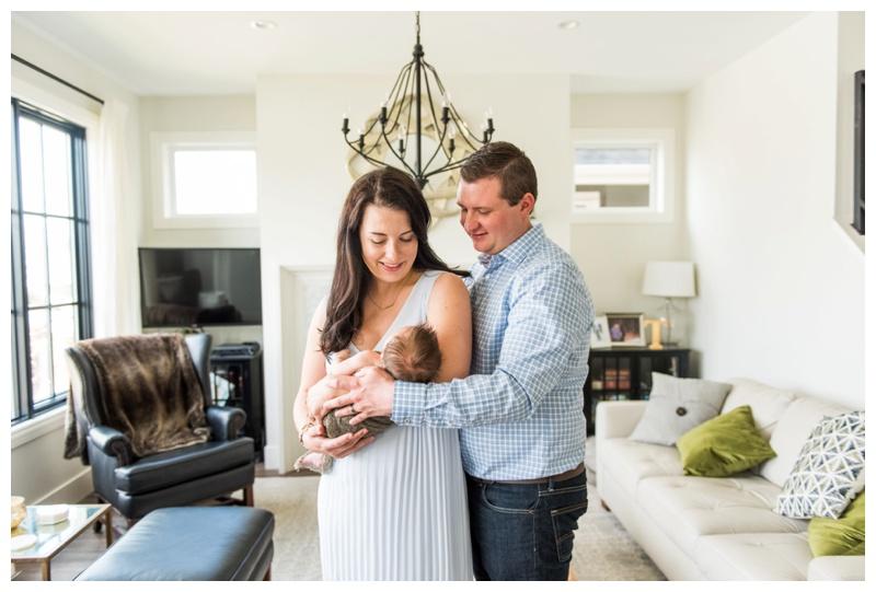 Calgary Newborn Photographer - In Home Newborn Session