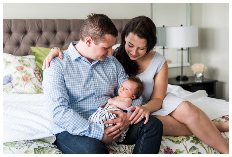 In Home Newborn Photograpjher Calgary