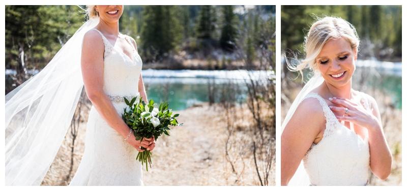 Rocky Mountain Bride - Canmore Alberta