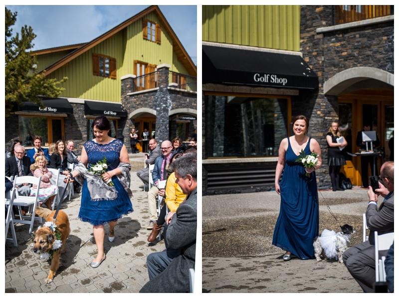 Silvertip Golf Course Wedding Ceremony