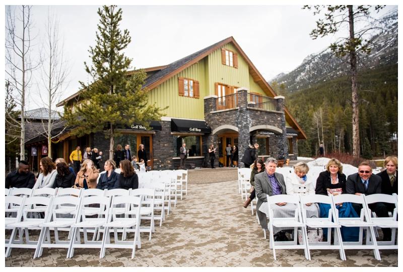 Silvertip Resort Outdoor Wedding Ceremony