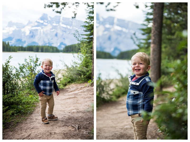 Rocky Mountain Family Photographer - Two Jack Lake Banff.jpg