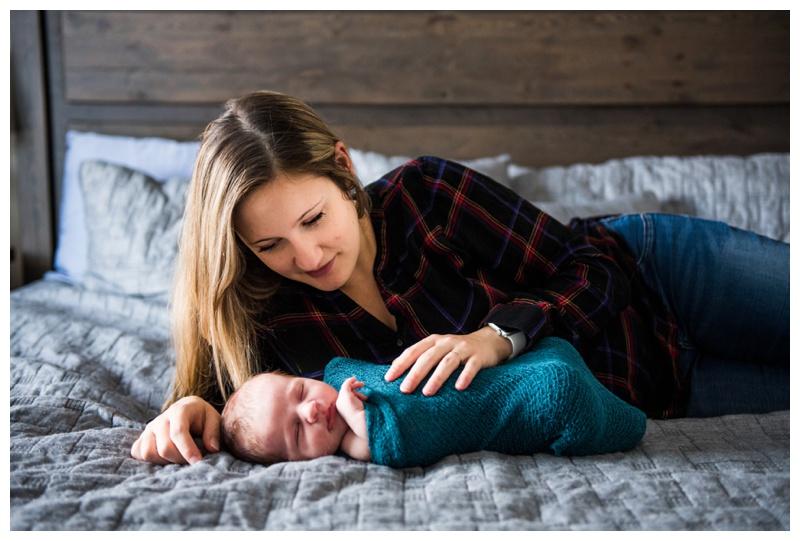 At Home Newborn Photos Calgary