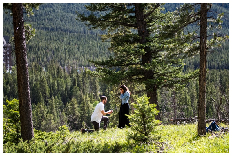 Banff Wedding Proposal - Banff Wedding Photographers