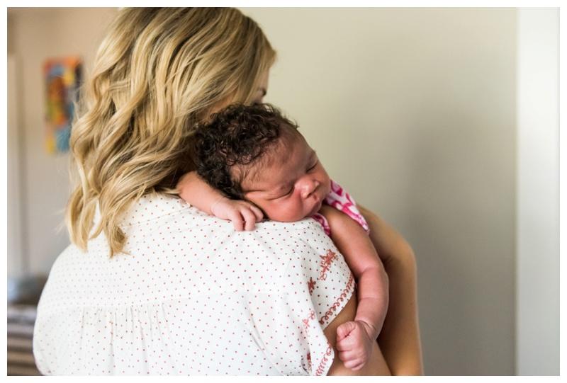 At Home Lifestyle Newborn Photos