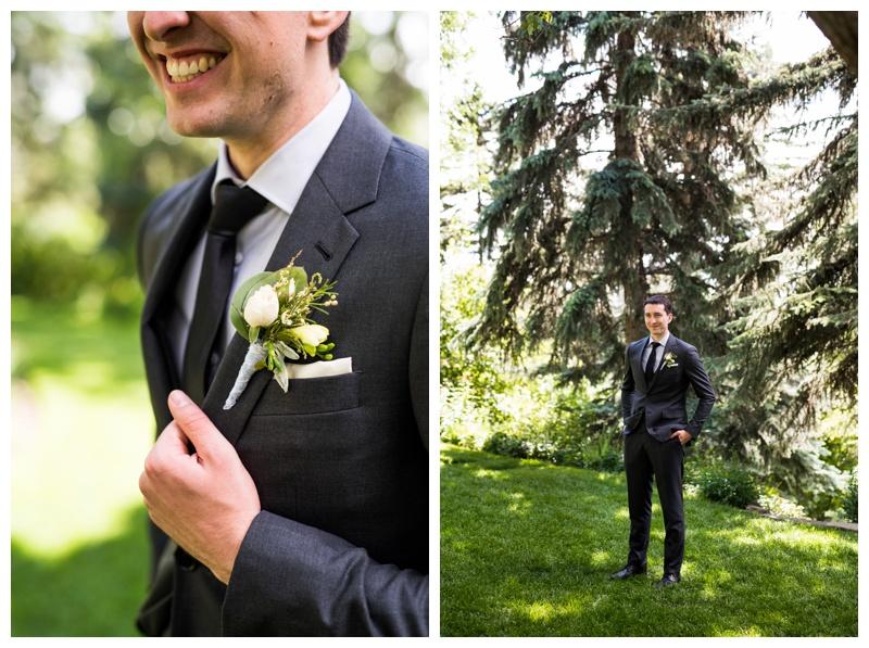 Groom Portraits - Calgary Wedding Photographer