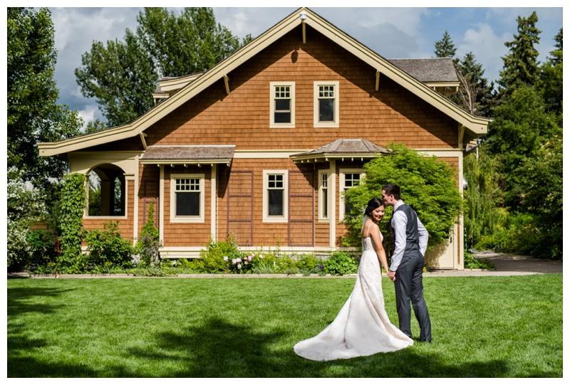 Reader Rock Garden Wedding Calgary Alebrta