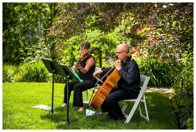 Reader Rock Garden Wedding Ceremony Calgary