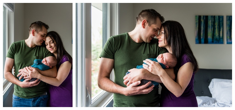 Calgary At Home Newborn Session