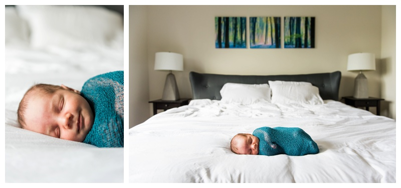 Lifestyle In Home Newborn Photos Calgary