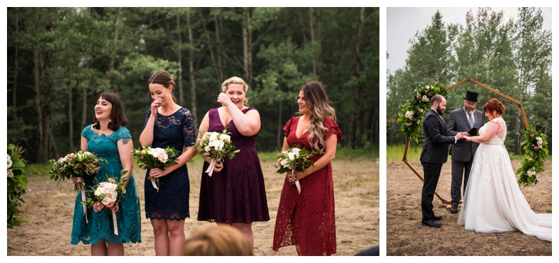 Canmore Outdoor Wedding Ceremony