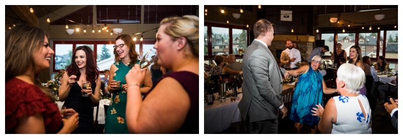 Murrieta's Canmore Wedding Reception Phtos