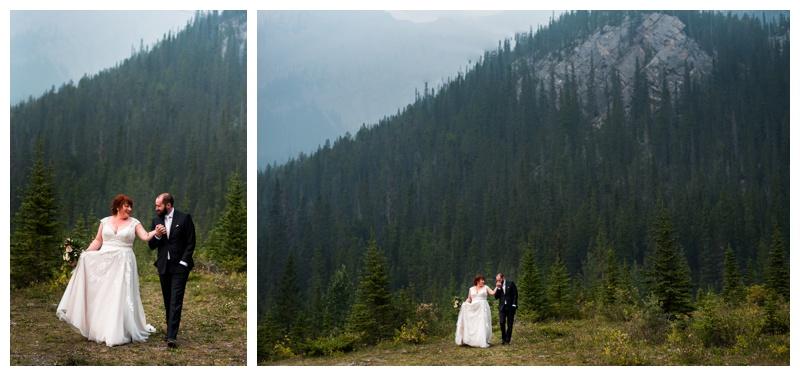 Rocky Mounain Wedding - Canmore Alberta